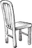Doodle Chair Vector Stock Images