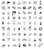 Doodle Christmas element. vector illustration Stock Images
