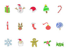Doodle Christmas icon Stock Photo