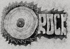Doodle concept rock music Stock Image