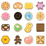 Doodle Cookies Royalty Free Stock Photo
