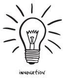 Doodle da inovação Foto de Stock