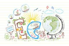 Doodle de Eco libre illustration