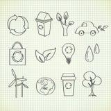 Doodle de la ecología Fotos de archivo libres de regalías