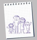 Doodle de la familia
