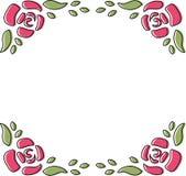 Doodle del blocco per grafici della Rosa Fotografia Stock Libera da Diritti