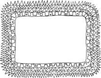 Doodle della pagina Immagine Stock Libera da Diritti