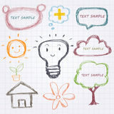 Doodle design element Stock Image