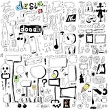 Doodle design elements Royalty Free Stock Photography