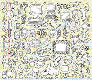 Doodle Design Elements Vector set Stock Photo