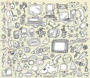 Doodle Design Elements Vector set Stock Photo