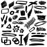 Doodle design elements Stock Photos