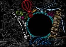 Doodle di corsa Immagini Stock Libere da Diritti