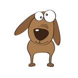Doodle dog cartoon Royalty Free Stock Image
