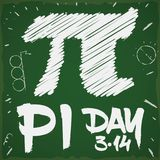Doodle Drawing in a Chalkboard for Pi Day Celebration, Vector Illustration. Chalkboard with doodle drawings with pi symbol, circles and the date to celebrate Pi royalty free illustration