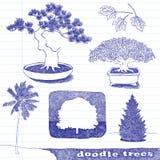 doodle drzewa Fotografia Stock