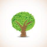 Doodle drzewo Obraz Stock