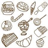 Doodle dulce Foto de archivo