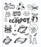 Doodle eco icon Stock Photo