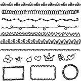 Doodle elements Royalty Free Stock Photography