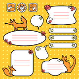 Doodle elements for scrapbook Royalty Free Stock Photos