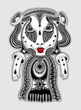Doodle fantazi potwora osobistość Zdjęcie Royalty Free