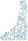 Doodle floral Imagen de archivo libre de regalías