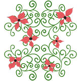 Doodle floral pattern. Vector 55 Stock Photos