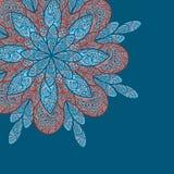 Doodle flower background Stock Image