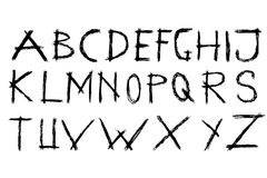 Doodle Font - Streak Stock Image
