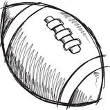 Doodle Football Vector Stock Photos