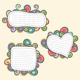 Doodle frame Stock Photo