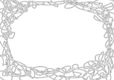 Doodle frame Royalty Free Stock Images