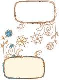 Doodle frames Stock Images