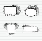 Doodle Frames Stock Photo