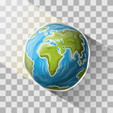 Doodle globe Royalty Free Stock Photo