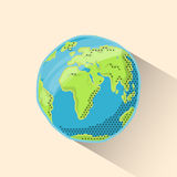 Doodle globe Stock Images
