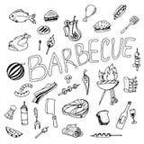 Doodle grill Zdjęcie Royalty Free