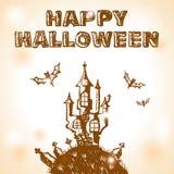 doodle Halloween Zdjęcia Stock