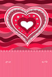 Doodle heart Royalty Free Stock Image
