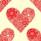 Doodle Heart Swirls Royalty Free Stock Photo
