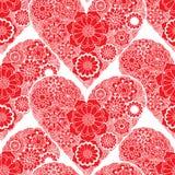 Doodle Heart Swirls Stock Photos