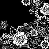 Doodle Henna FlowersVector Stock Image