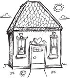 Doodle House Vector Royalty Free Stock Photos