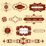 Doodle icon set - web & internet. Vector set: calligraphic design elements and page decoration - lots of useful elements to embellish your layout Royalty Free Stock Images