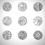 Doodle icons Stock Image