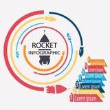 Doodle infographic Zdjęcie Stock