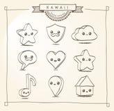 Doodle Kawaii Stock Photos