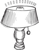 Doodle Lamp Vector Stock Photo