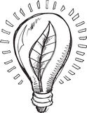 Doodle Light Blub Vector Royalty Free Stock Photos